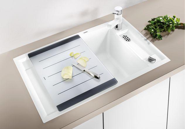 blanco axia ii 45 s f blancoaxia ii 45s f granitsp le. Black Bedroom Furniture Sets. Home Design Ideas