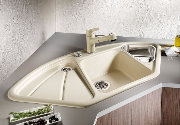 blancodelta oder delta von blanco eine keramiksp le von blanco. Black Bedroom Furniture Sets. Home Design Ideas