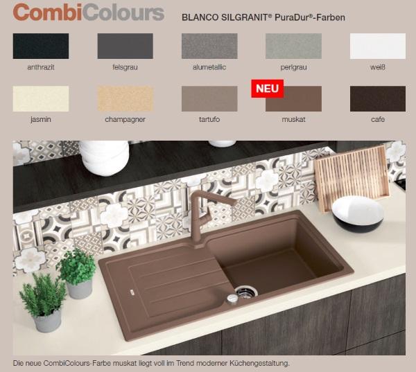 farben blanco silgranit 2017 sp lenshop. Black Bedroom Furniture Sets. Home Design Ideas