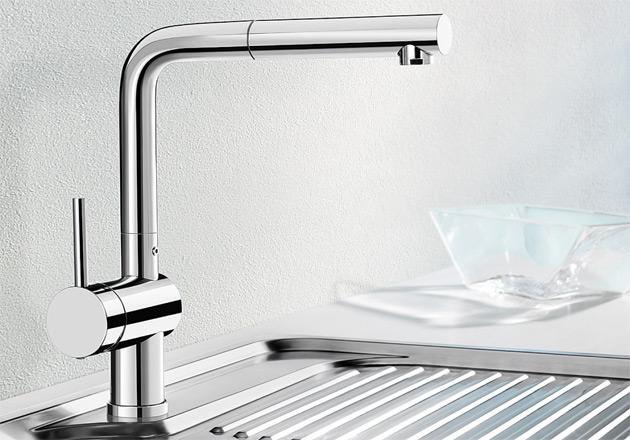 armatur blanco linus s chrom hd hebel links blancolinus s 514016 sp lenshop. Black Bedroom Furniture Sets. Home Design Ideas