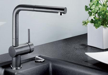 blanco linus s blancolinus s silgranit hochdruck armatur k chenarmatur sp lenshop. Black Bedroom Furniture Sets. Home Design Ideas