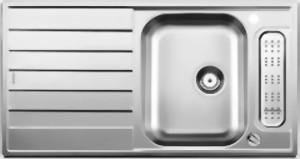 blancolivit 5s 5 s 514791 spuele sp len blanco edelstahl livit sp lenshop. Black Bedroom Furniture Sets. Home Design Ideas