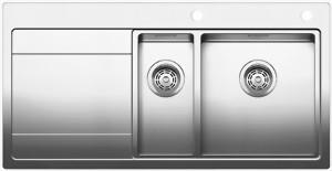 sp le blanco divon ii 6 s if edelstahl blancoldivon 6s i f 519820 519819 sp lenshop. Black Bedroom Furniture Sets. Home Design Ideas