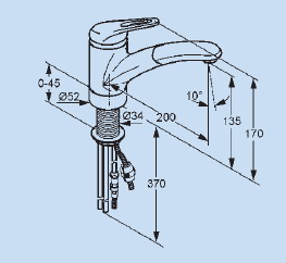 küchenarmatur | kludi | komet | -s | chrom | hochdruck | spültisch ... - Kludi Armaturen Küche