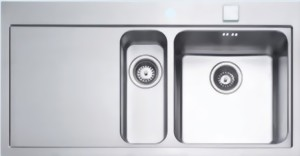 Spülbecken edelstahl  Spüle | Rieber | Linea | 150 | Edelstahl - Spülenshop