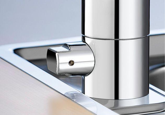 Küchenarmaturen mit Geräteanschluss / Absperrventil für